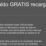 Hasta 10 euros de saldo gratis con recargas de Lebara Móvil