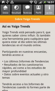 Como es Yoigo Trends Tendencias