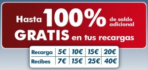 Con Ortel mobile hasta 100% saldo extra gratis