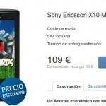 El Sony Ericsson Xperia X10 mini pro libre de Tu a 109 euros