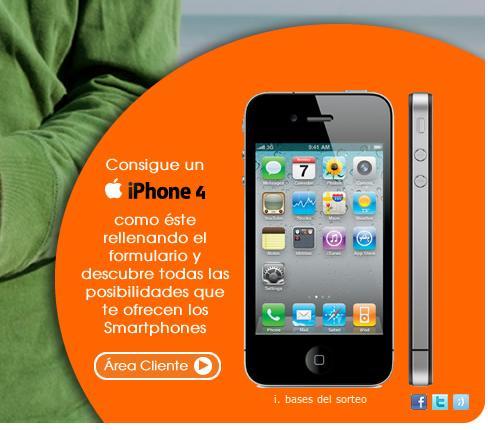 Sorteo iPhone 4 de Euskaltel