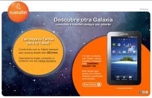 Sorteo Tablet empresas de Euskaltel