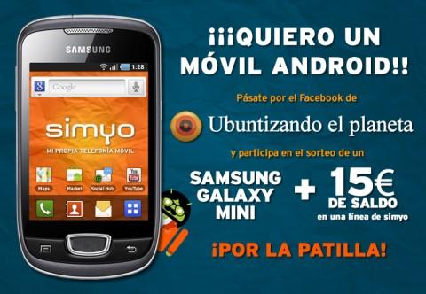 Samsung Galaxy Mini gratis y libre con Simyo