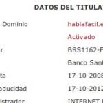 ¿HablaFácil fue o es un OMV del Banco Santander?