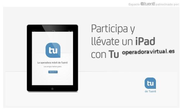 iPad Sorteo Tu gratis