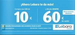 Promoción Lebara Télandcom
