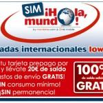 Ortel Mobile lanza la tarjeta 'SIM Hola Mundo!', prepago para llamadas internacionales