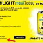 La tarifa @Light de MÁSmovil también en prepago automático