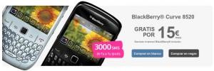 Tu BlackBerry Curve 8520 gratis