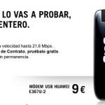 3 meses gratis con internet para llevar de Yoigo y módem por 9 euros