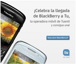 Celebra la llegada de BlackBerry a Tu, sorteo gratis