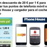 Cupón descuento de 20 euros para cambiar tu móvil con puntos Yoigo en The Phone House