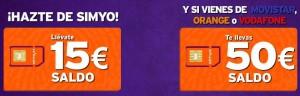 Hazte de una OMV como Simyo portando tu línea desde Movistar, Orange o Vodafone