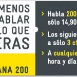 Nueva tarifa sin establecimiento de MÁSmovil: Tarifa Plana 200