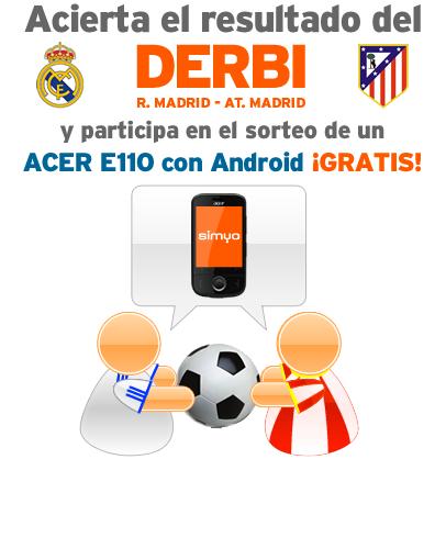 Porra Real Madrid Atlético, 26 de noviembre del 2011