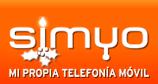 Logo de Simyo en Navidad