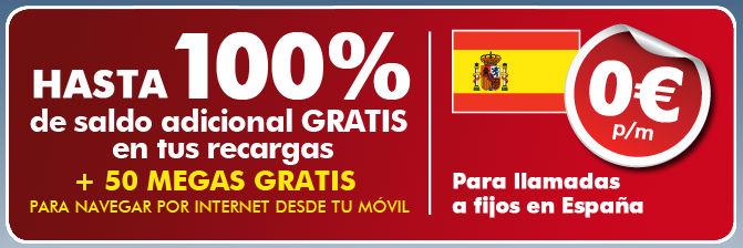 Ortel Mobile Recarga extra gratis