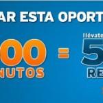 15 euros de saldo gratis con Simyo y hasta 500 minutos en llamadas