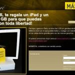 Sorteo iPad 2 y bono de internet móvil gratis con MÁSmovil