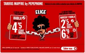 Tarifas Mapfre Pepephone