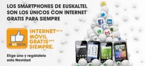 Nuevas tarifas planas de Euskaltel