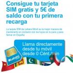 Tarjetas SIM gratis de Lebara Móvil y saldo extra