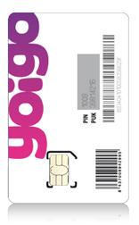 Tarjetas micro-SIM de Yoigo