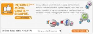 Internet móvil gratis de Euskaltel se ralentiza