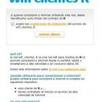R da wifi gratis a sus clientes