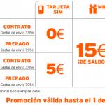 Hasta 200 minutos en llamadas gratis y 15 euros de saldo con Simyo