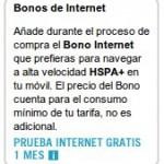 Bono de internet móvil gratis con Yoigo el primer mes