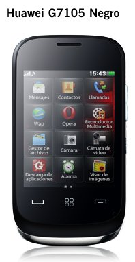 Huawei G7105 Yoigo negro o blanco