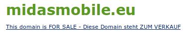 Midas Mobile .eu en venta