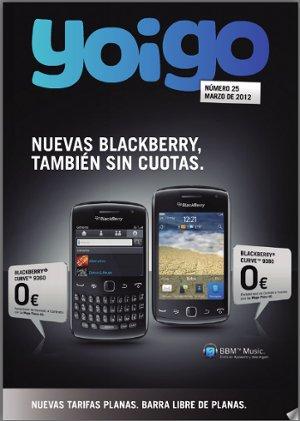 Revista Yoigo en marzo del 2012