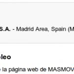 MÁSmovil busca webmaster para su web