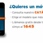 Móviles libres de Simyo para clientes con gastos de envío gratis