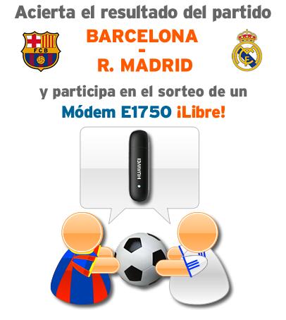 Porra de Simyo del Barcelona contra el Madrid