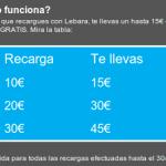 50% de saldo extra gratis con Lebara Móvil entre otras promociones para abril 2012