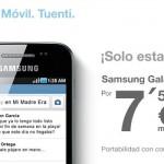 Samsung Galaxy Ace rebajado durante esta semana con Tuenti Móvil