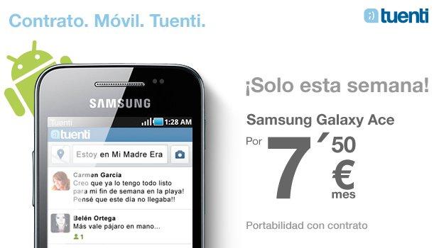 Samsung Galaxy Ace Tuenti Móvil