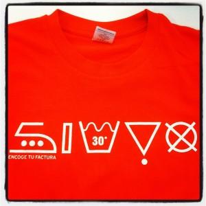 Camisetas gratis Simyo encoge tu factura
