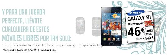 Smartphone de Eroski Móvil libre