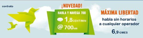 Tarifa de 1.8 céntimos/minuto de Happy Móvil