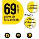 Llamadas ilimitadas MÁSmovil por 69 euros/mes