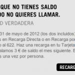 Recargas extra gratis con Yoigo en mayo del 2012