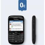 Hasta mañana BlackBerry 8520 con Tuenti Móvil a 3.5 euros/mes