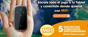 Dispositivo MIFI de Euskaltel