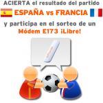 Gana un módem E173 libre con Simyo acertando la porra del España-Francia