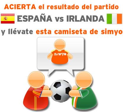 Porra Eurocopa España contra Irlanda