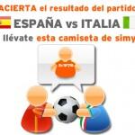 Porra de Simyo de la Eurocopa entre España e Italia y aplicación Android para no perderse ningún partido